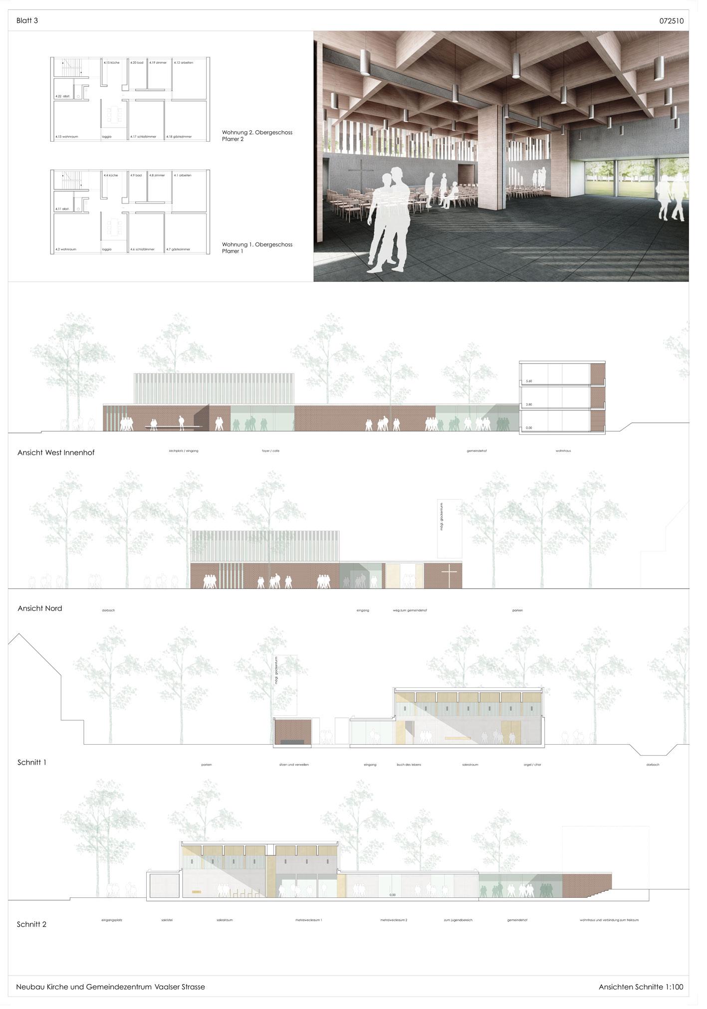 Ev. Kirchengemeinde Aachen: Architektenwettbewerb